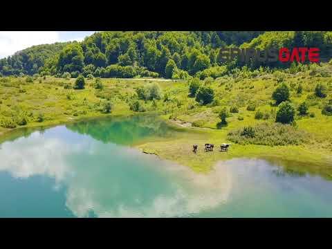 Μέτσοβο: Η εντυπωσιακή λίμνη πηγών Αώου με τα μικρά φιόρδ
