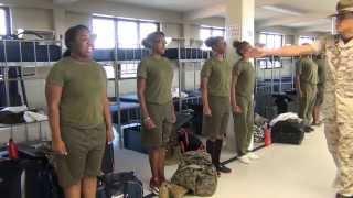 Carvers Bay MCJROTC Girls Go To Parris Island