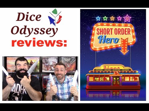 Review and rules overview by the Dice Odyssey