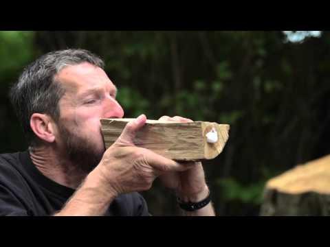 Der Seifentest - So testen Sie, ob Ihr Kaminholz trocken ist