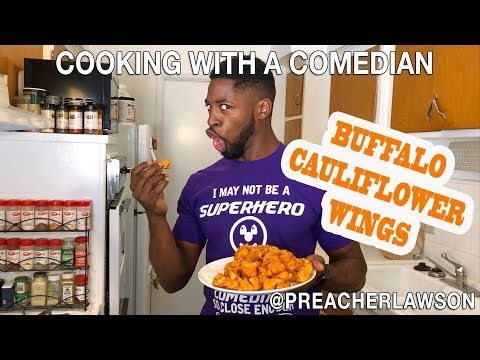 Buffalo Cauliflower Wings - Cooking With A Comedian