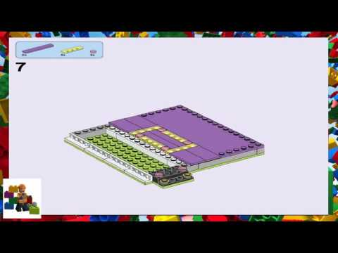 Lego Instructions Lego Friends 41133 Amusement Park Bumper Cars