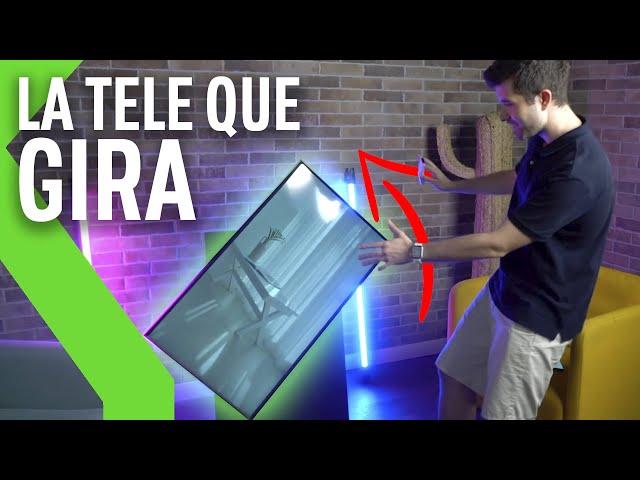 THE SERO: UNBOXING y ANÁLISIS de la PRIMERA TV VERTICAL de Samsung tras primera toma de contacto