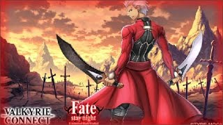 VALKYRIE CONNECT - INSANE FATE/NIGHT [UBW] SUMMONS!!! (4 SUPER RARE)