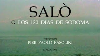 Trailer SALÒ. Pasolini