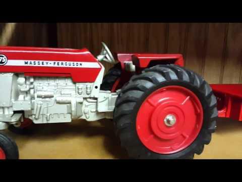 Ertl Tru-Scale Tonka toy farm tractor collection '60's thru '70's