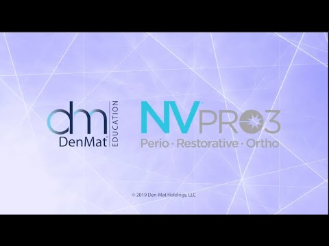 NV® PRO3 Microlaser - Get To Know Your Laser - DenMat Dental Education