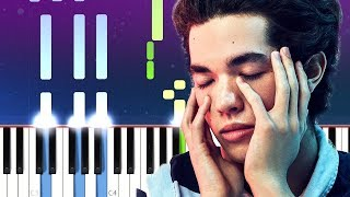 Conan Gray   Idle Town (Piano Tutorial)