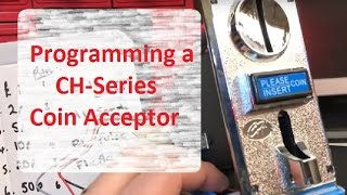 How to Setup Coin Acceptor CH-926 (CH-Series) snd Programme for Arduino  or Raspberry Pi