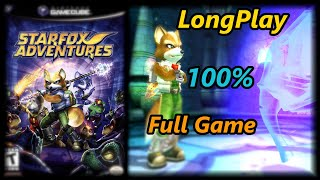 Star Fox Adventures - Longplay 100% Full Game Walkthrough (No Commentary)