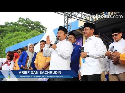 Deklarasi Pasangan Calon Walikota Dan Wakil Walikota Tangerang 2018-2023