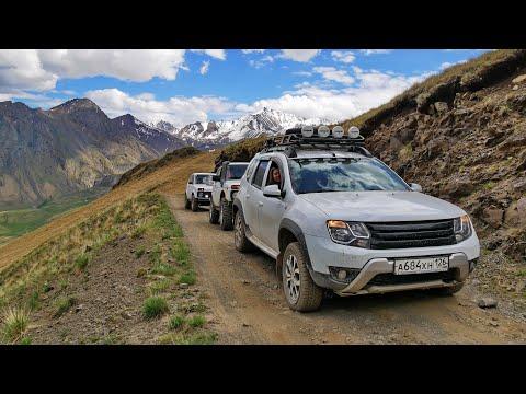 На Дастере к подножию Эльбруса и поляну Эммануэля через гору Сирх