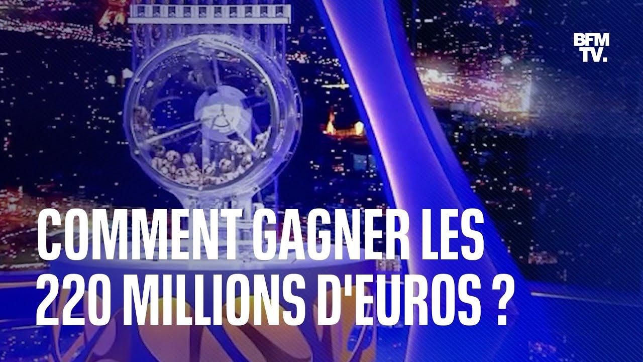 Euromillions: quels sont les chiffres qui pourraient faire remporter les 220 millions d'euros?