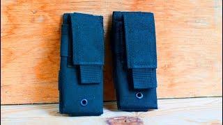 Пистолетный подсумок одинарный от компании Военное тактическое снаряжение Вотан - видео
