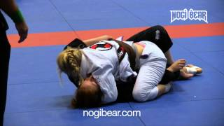IBJJF NY Summer Open 2014 • Laurah Hallock vs Eirin Nygren • Female Brown Belt • Nogi Bear®