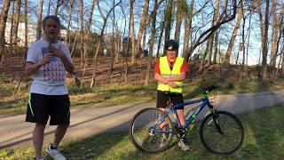 A Guy Riding His Bike Gets Hit By An Owl And …