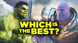Marvel Infinity Saga RANKED! All 23 MCU Films Official Countdown!