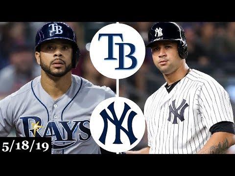 Tampa Bay Rays vs New York Yankees - Full Game Highlights | May 18, 2019 | 2019 MLB Season