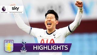 ▶▶ Die Tore und Highlights aller Premier-League-Spiele 2019/20: https://zly.de/sky/De-EPL1920  Premier League, 26. Spieltag: Die Mannschaft von Jose Mourinho gewann beim Aufsteiger Aston Villa dank eines späten Treffers von Heung-Min Son (90.+4) mit 3:2.  Viel Spaß mit den Highlights des Spiels Aston Villa gegen Tottenham Hotspur am 26. Spieltag der Premier League 2019/20 auf Sky Sport HD!  Tore: Tore: 1:0 Alderweireld (9. ET), 1:1 Alderweireld (27.), 1:2 Son (45.+2), 2:2 Engels (53.), 2:3 Son (90.+4)  ▶▶ Aktuelle Sport-News & Videos jetzt auf: https://sport.sky.de/  Kostenlos unseren YouTube-Kanal abonnieren: https://zly.de/sky/YTsub Facebook - Sky Sport DE: https://zly.de/sky/facebook Facebook - Sky Sport News HD: https://zly.de/sky/facebookSSNHD Twitter - Dein Sky Sport: https://zly.de/sky/twitter Sky abonnieren: https://zly.de/sky/TVabo