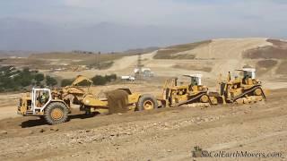 C.A. RASMUSSEN D9L's push loading 651B's