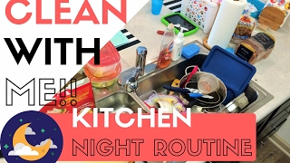 CLEANING MY SMALL KITCHEN