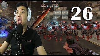 [Đột Kích] Bình Luận CF Zombie V4 Tập Đoàn Chạy Quái Vật Tập 26 - NTN