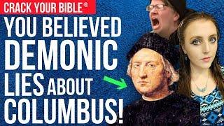 ☠️ DEMONIC PEOPLE DETEST HIM! (Christopher Columbus Day TRUTH)