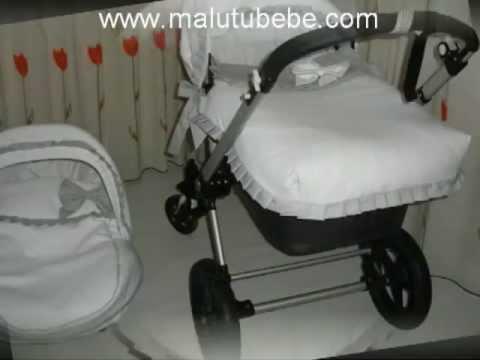 Fundas y conjuntos personalizados para carrito bebe, bugaboo, maclaren, jane, bebecar,  j