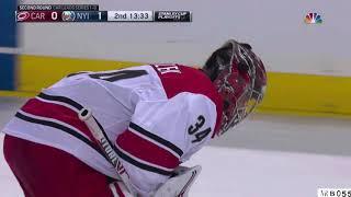 Mrazek injury against New York Islanders