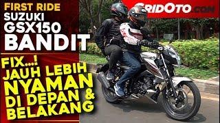 Merasakan Kenyamanan Mengendarai Motor Baru Suzuki Bandit 150