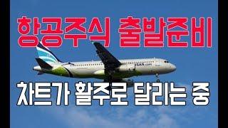 [주식]항공주식 다시 출발!상승하기직전 활주로를 달리는 차트? 에어부산주가전망 아시아나IDT주가전망 아시아나항공주가전망 대한항공주가