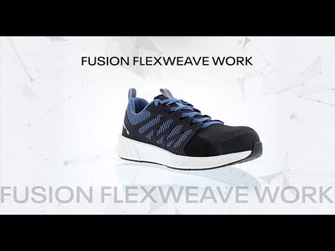 Reebok Work Fusion Flexweave Work Educational Video Icon
