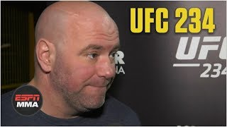 Dana White talks UFC 234, McGregor vs. Cerrone, more   ESPN MMA