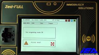 OPEL - VAUXHALL  (INSIGNIA, ASTRA J)  PIN CODE EXTRACTION AND KEY PROGRAMMING WITH Zed-FULL