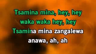 Shakira - Waka Waka (Karaoke)
