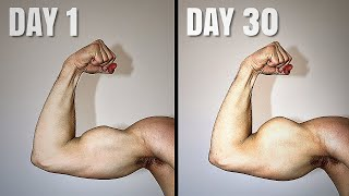 I Did 100 Bicep Curls Everyday For 30 Days | RESULTS