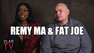 """Remy Ma & Fat Joe Talk Ending Beef, Success of """"All The Way Up"""""""
