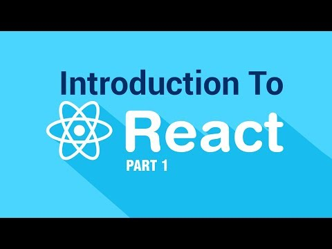 Introduction To React JS | Getting Started | Part 1 | Eduonix