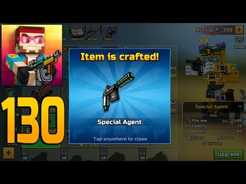 Pixel Gun 3D - Gameplay Walkthrough Part 130 - Special Agent