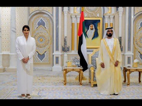 His Highness Sheikh Mohammed bin Rashid Al Maktoum - Mohammed bin Rashid receives credentials of three new foreign ambassadors