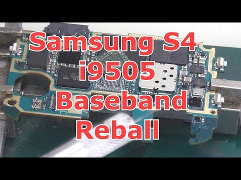 How to Remove ic Baseband Samsung Galaxy S2 i9100 M250s by