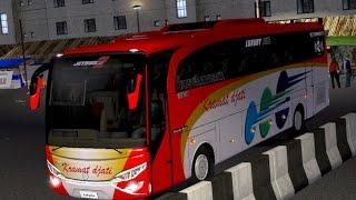 ETS 2 | Adiputro Jet Bus HD MB 1526 P.O Kramat Djati | Sukabumi