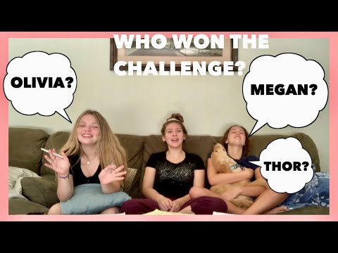 WHO KNOWS ME BETTER CHALLENGE ft. Olivia and Megan
