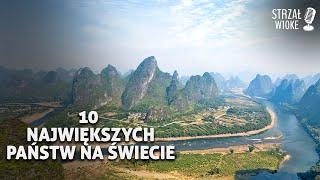 10 Największych Państw na świecie