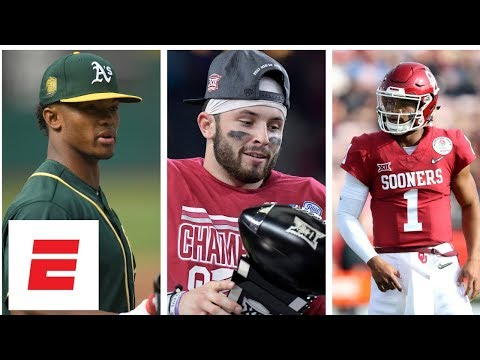 Oklahoma quarterback Kyler Murray taking over for Baker Mayfield and playing  in MLB  fb5567ec6