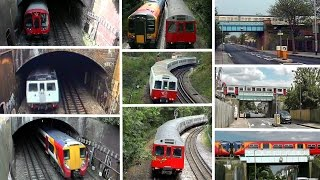 preview picture of video 'Wimbledon Route Lineside Views 1990 - 2015'