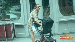 Irina Shayk Walking Lea In NYC After Breaking Up With Bradley Cooper