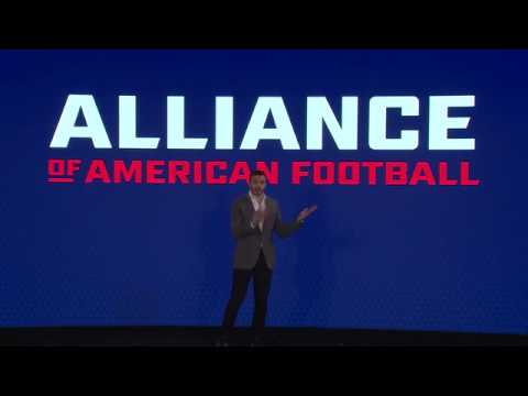 Alliance of American Football - Official Launch Announcement