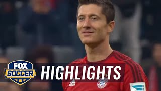 Highlights Bayern Munich vs Wolfsburg : 5-1