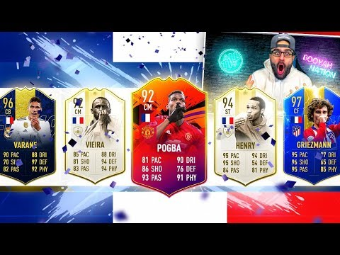 OMG YES!! BEST POSSIBLE FRANCE FUT DRAFT! FIFA 19 Ultimate Team